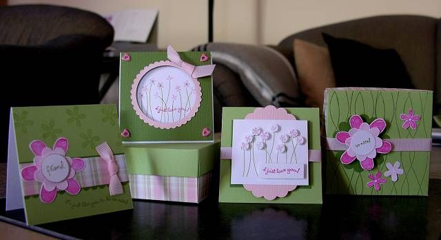 Cute box with cards