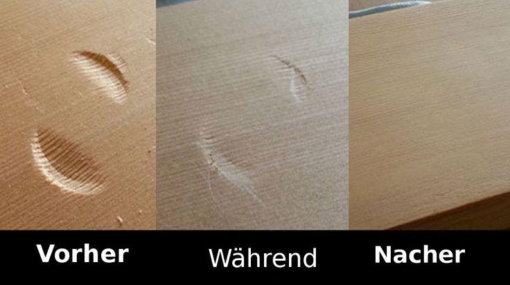 Die Gründe für Schrammen im Holz sind genauso vielzählig, wie die dazugehörigen Ausreden. Egal ob Holz-Esstisch, Holz-Schreibtisch oder Holz-Regal; mit diesem ganz einfachem Trick gehört das Problem ab sofort der Vergangenheit an!   unfassbar.es