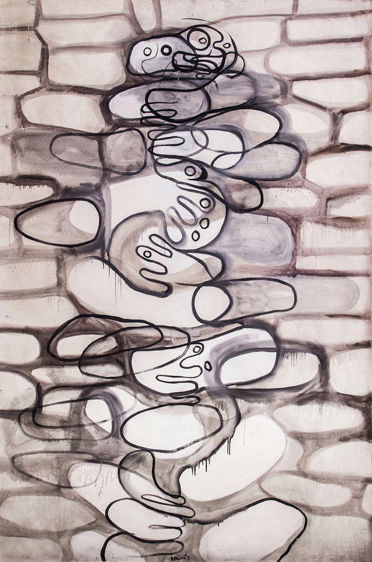 """Roland Dorcely, """"Le Mur de la Vie"""" 1956-61"""