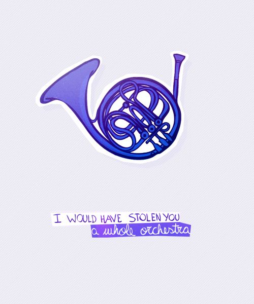 The blue french horn! Love HIMYM. It's all I watched when I had pneumonia.