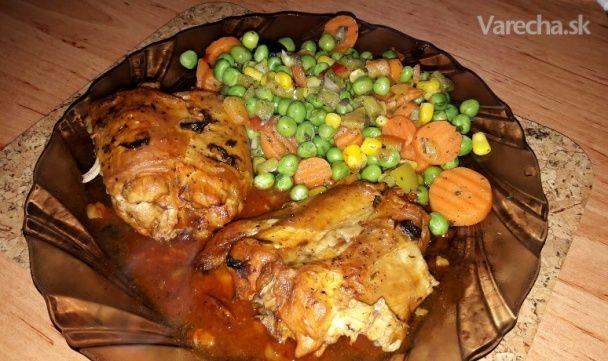 Voňavý králik na olivách - Recept