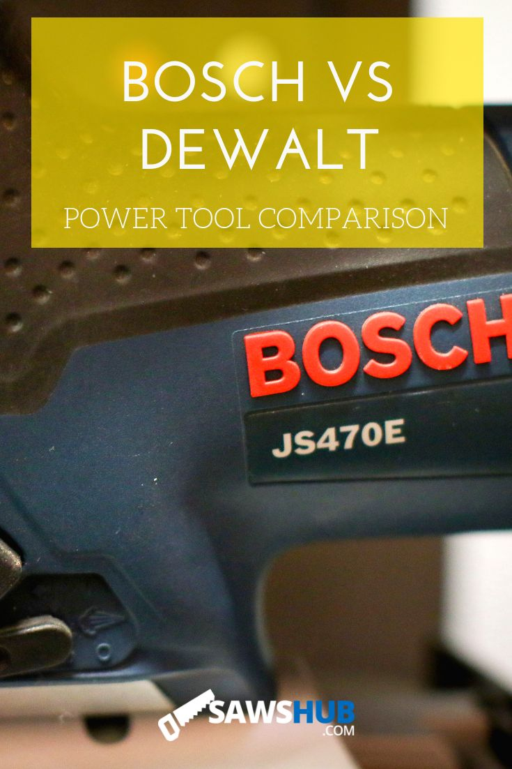 [The Showdown] Bosch vs Dewalt - Which Brand Makes the ...