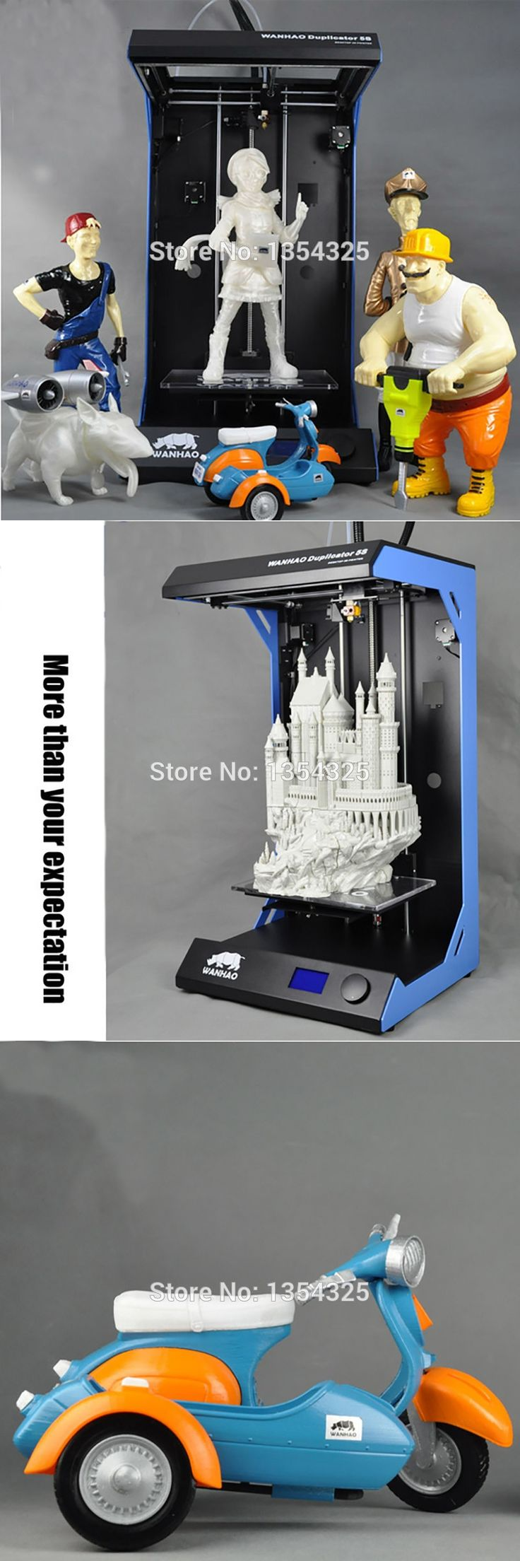 605*205*305MM Ultrafast 3D printer print speed industrial printers Used in industrial medical and other fields of aviation