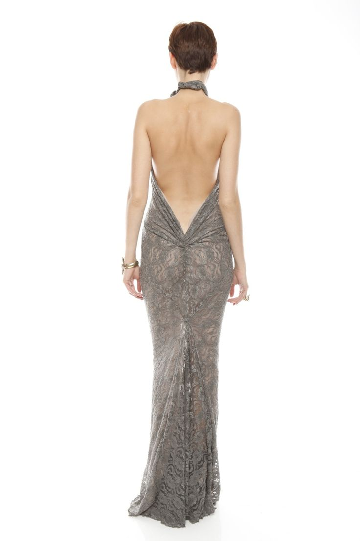 Patricia Del Castillo Long Backless Gown | Backless gown, Gowns ...