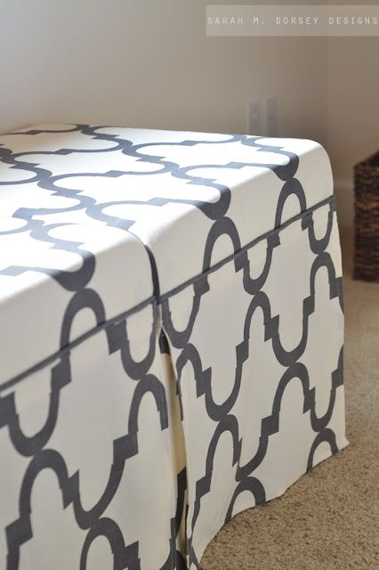 Ikea Hack: Lack Tables to Upholstered Ottomans