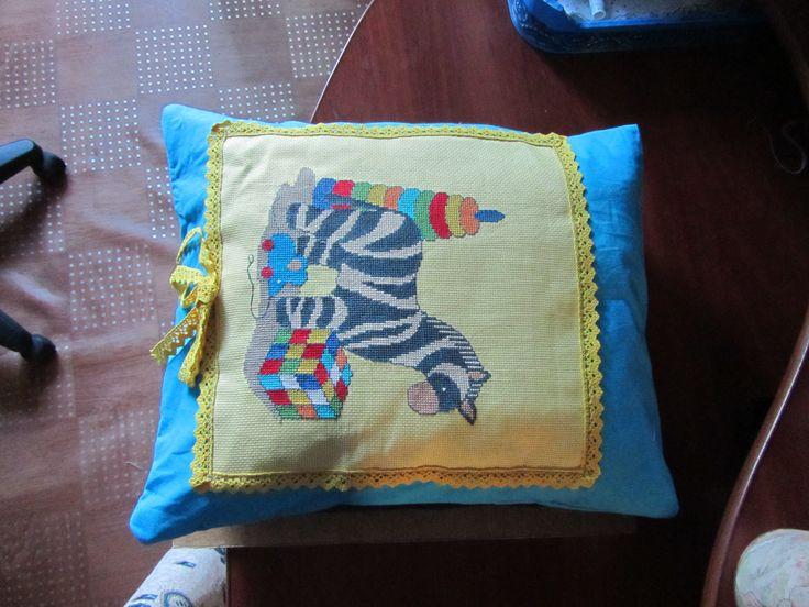 Подушка, сделанная в подарок