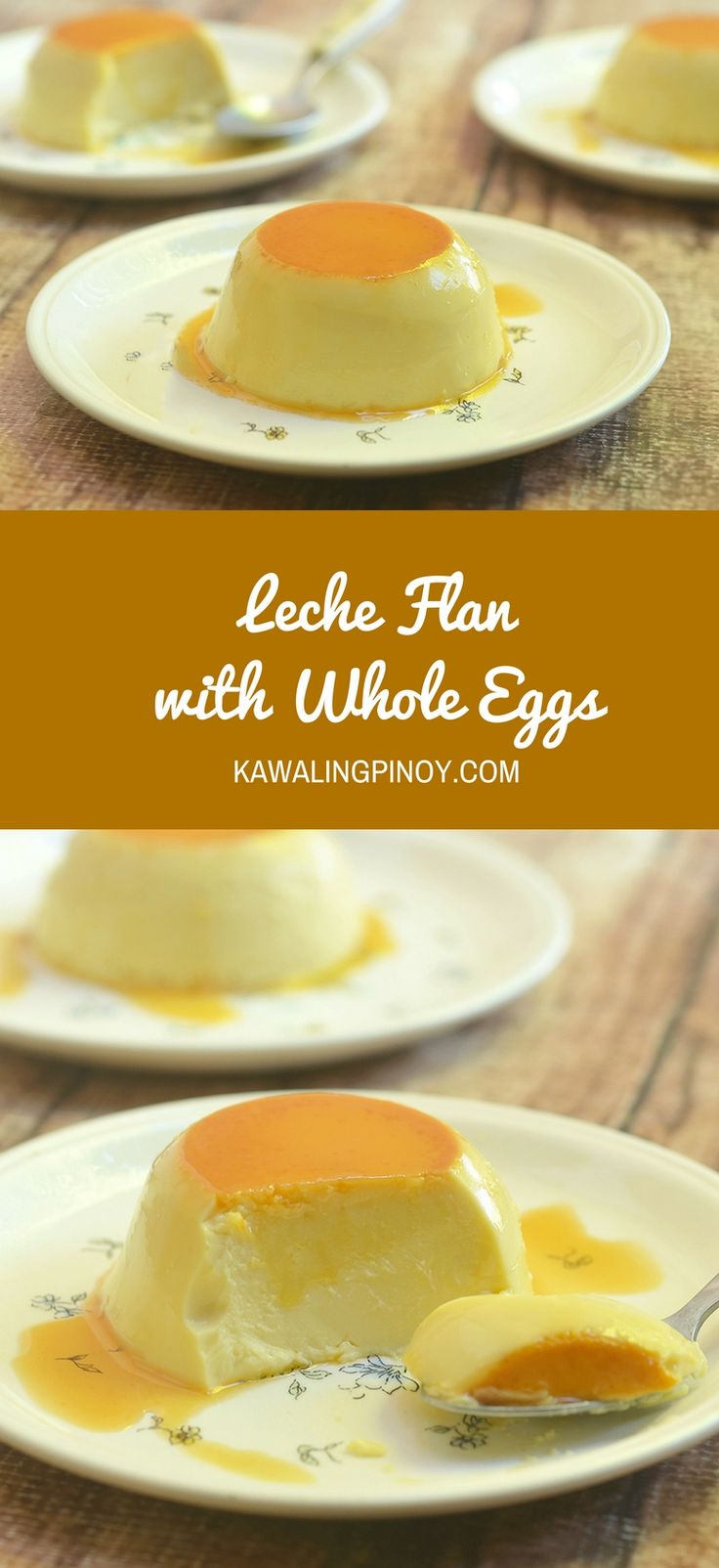 Leche Flan using oven