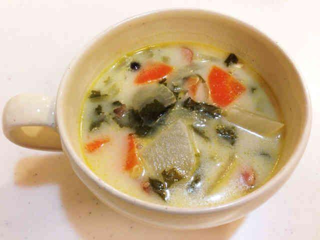 あったか☆かぶのミルクスープの画像