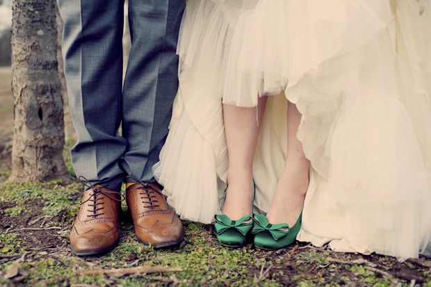 Green Wedding Shoes: An Ultra Stylish Boho Wedding With Subtle Vintage Vibe see more at http://www.wantthatwedding.co.uk/2014/01/29/green-wedding-shoes-an-ultra-stylish-boho-wedding-with-subtle-vintage-vibe/