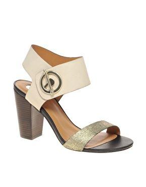 Agrandir River Island - Chaussures scintillantes à talons carrés