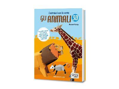 Sassi libro animali 3D: costruisci con la carta tanti animali in origami!!!