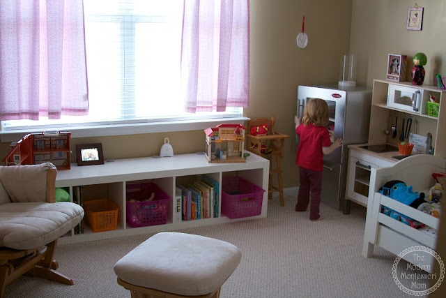 Modern Montessori Classroom : Images about montessori home spaces on pinterest