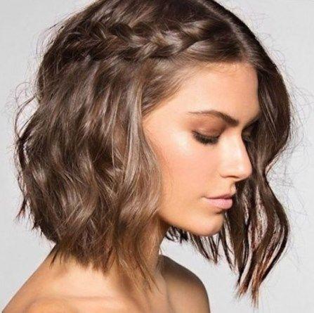 Coiffure mariage cheveux mi long. #Coiffure #Coiffure2017 #cheveux #tendance #tendance2017
