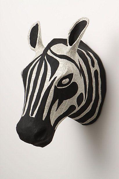 $68 Zebra Story Bust