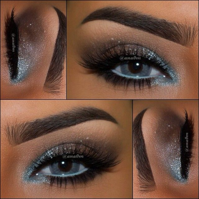blue is hard to wear without looking like your from the 80's. but blending well with browns and breaking up the dark line on the waterline is perfect