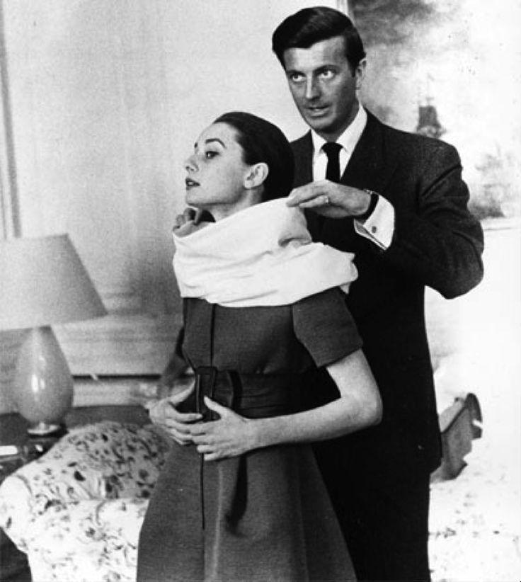 Audrey Hepburn and Hubert de Givenchy, 1958