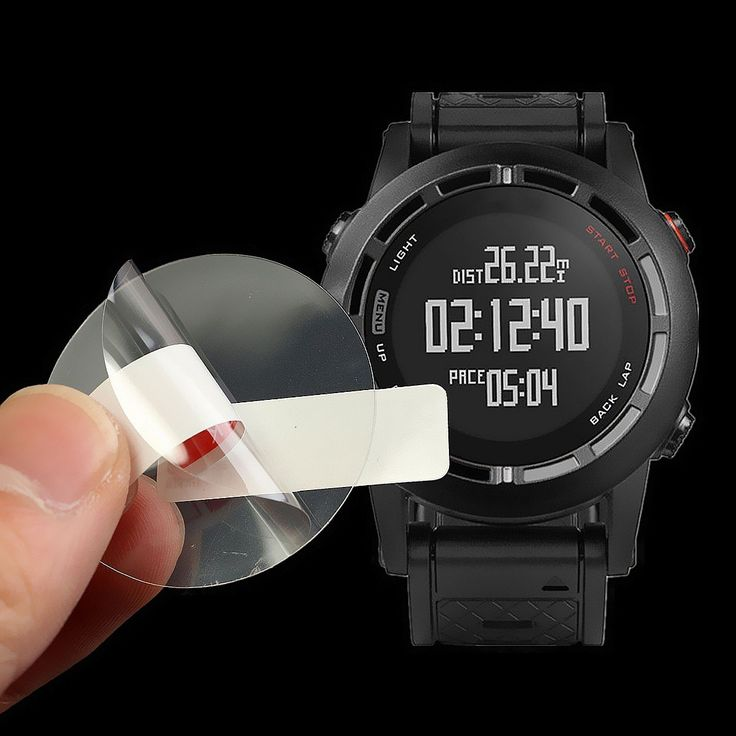 Anti-Scratch Transparent Clear Screen Protector Film Shield For Garmin Fenix 2…