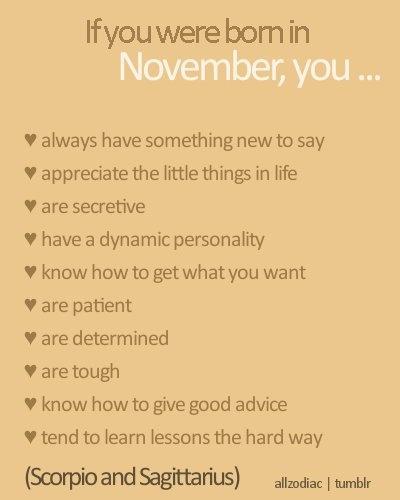 November Born Quotes. QuotesGram