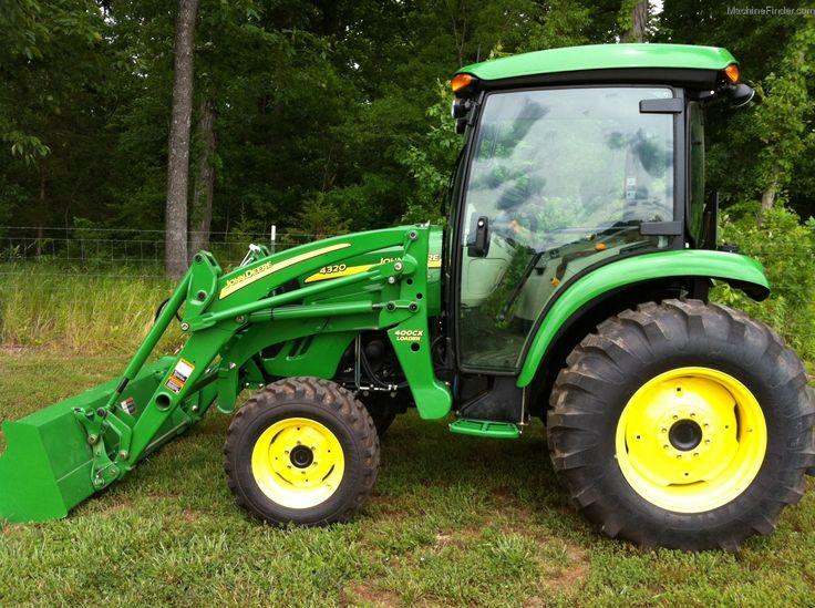 new john deere 4320 cab | 2011 John Deere 4320 Tractors