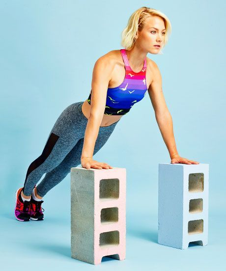 30 Day Push Up Challenge - How To Do Push Up Properly | Try this 30-day push-up challenge. #refinery29 http://www.refinery29.com/push-up-challenge