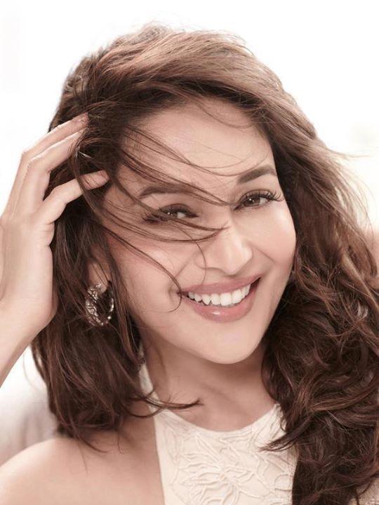 Madhuri Dixit smiling