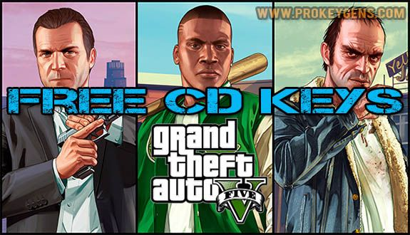 GTA 5 Keygen [Free CD Keys] 2016