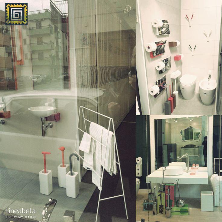 Cagnetta #showroom #client #italy #bathroom #everydaydesign SKOATI & TIRELA by Zaven