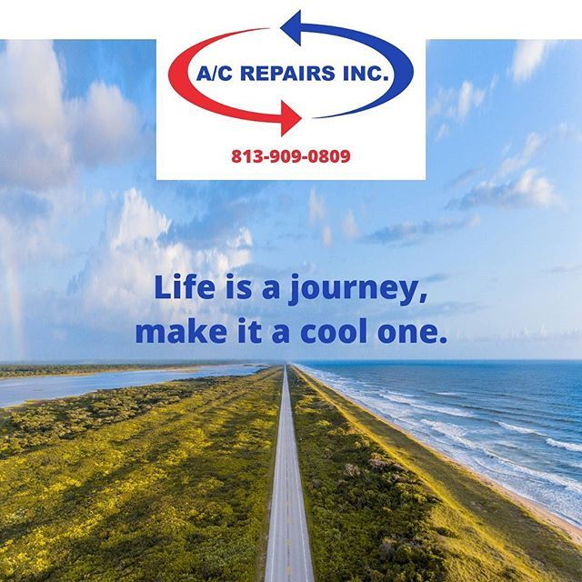Working hard, so you can say, it's been a cool journey, all the way.  #yourcooljourney #tampa #hillsborough #pasco #pinellas #tampabay #hvac #airconditioning