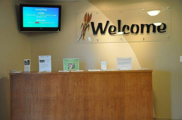 Office Foyer Signs : Best images about church decorating ideas on pinterest