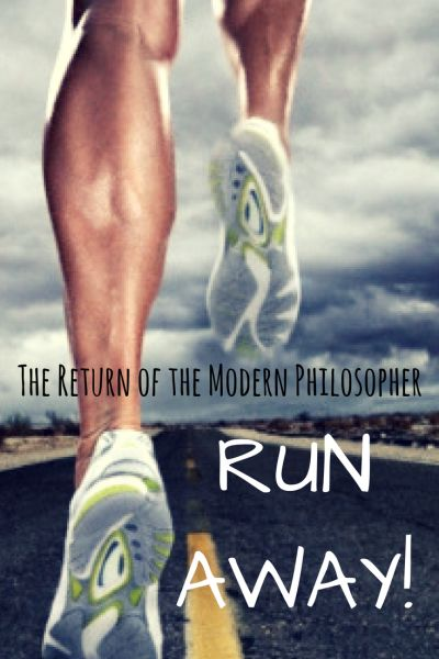 running, fitness, mental health, coping skills, dealing with stress, humor, Modern Philosopher
