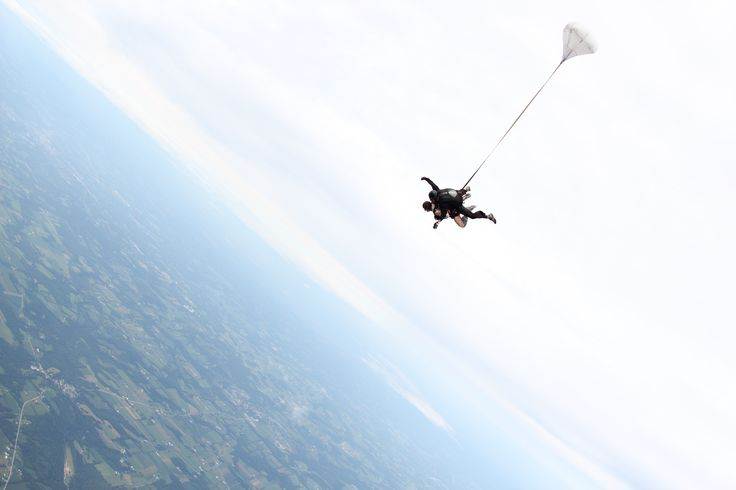 My first jump....Grove City, PA. Certification will be next on the list.