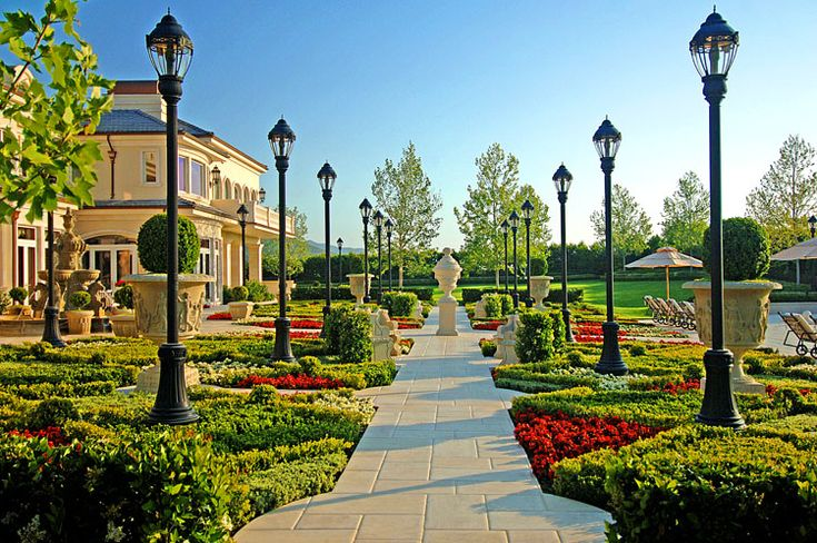 Pictures Nice Home Gardens : Awesome beautiful garden home mansion nice pretty private