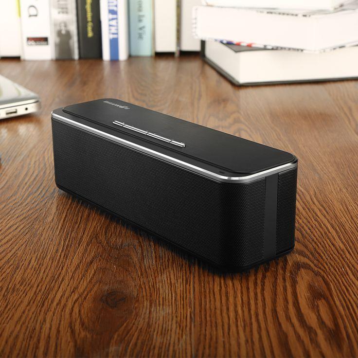 BlitzWolf® BW-F4 xBASS 10W*2 4000mAh Outdoor Hands-free AUX Wireless CSR 4.0 Bluetooth Speaker With Mic