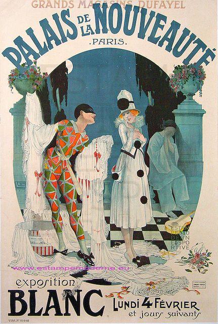 Goutte d'Or Quarter, Grands Magasins Dufayel, Palais De La Nouveaute, department Store, 1917, Paris XVIII