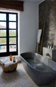 Piedra natural en baños