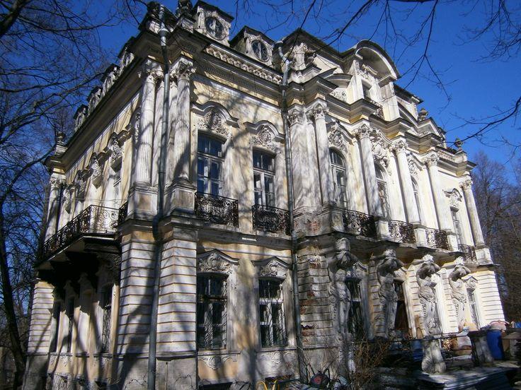 Palais du Jardin Privé - Peterhof - Reconstruit sur un ancien palais datant de 1729 par l'Architecte Andreï Stackenschneider entre 1844 et 1855.