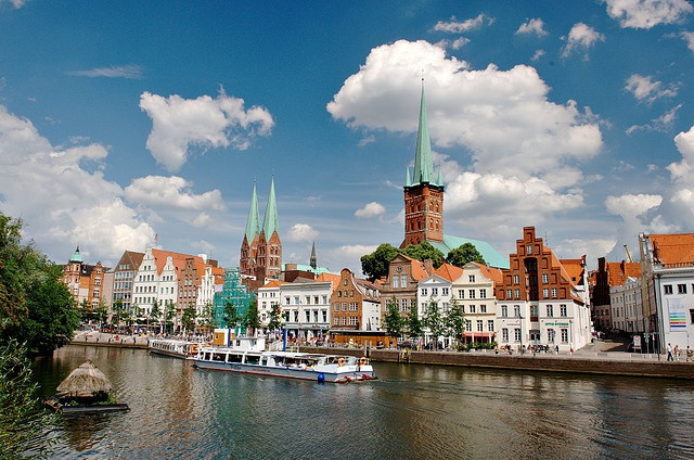 Lubeck, Germany--I really need to go back, preferably not in January next time.