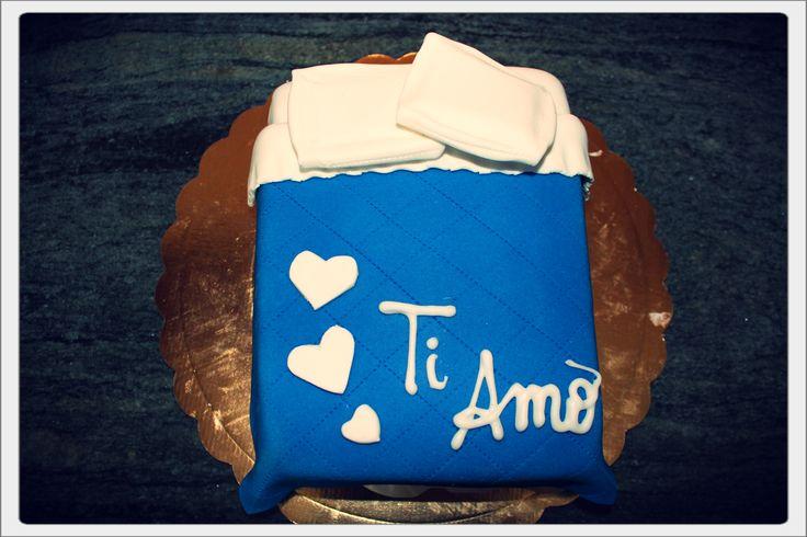 cake design torta letto
