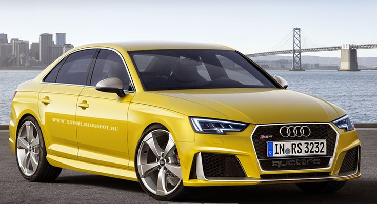 Audi RS4 2016 – Amarillo » Los Mejores Autos