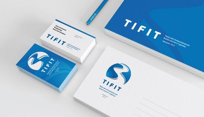 Разработка логотипа и фирменного стиля Международного речного форума TIFIT