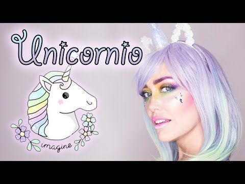 TUTORIAL: UNICORNIO - Maquillaje Halloween - YouTube