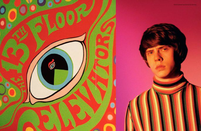 """""""Fluorescent Adolescent"""". English singer-songwriter Jake Bugg captured by Alasdair McLellan and styled by Alister Mackie for the Spring/Summer 2013 issue of AnOther Man."""