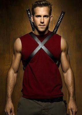 "Wade Wilson aka ""Deadpool""  (X-Men Origins: Wolverine), this must be before Wade got his disease that made him look like he was dropped in boiling oil, thrown in a a fire, drowned in Antarctic waters, and then dropped on the sun. Because Ryan Renyolds doesn't look like he's gone through enough pain."