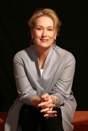 Meryl Streep juillet 2008. Photo Simon Schluter .