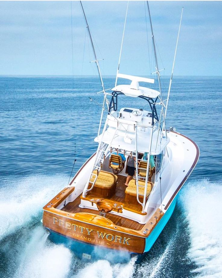 25 best ideas about sport fisher yachts on pinterest for Sea fishing boats