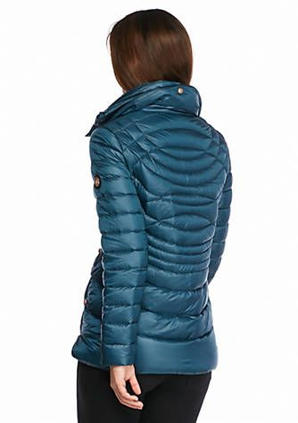 Quilted Packable Jacket with Hood