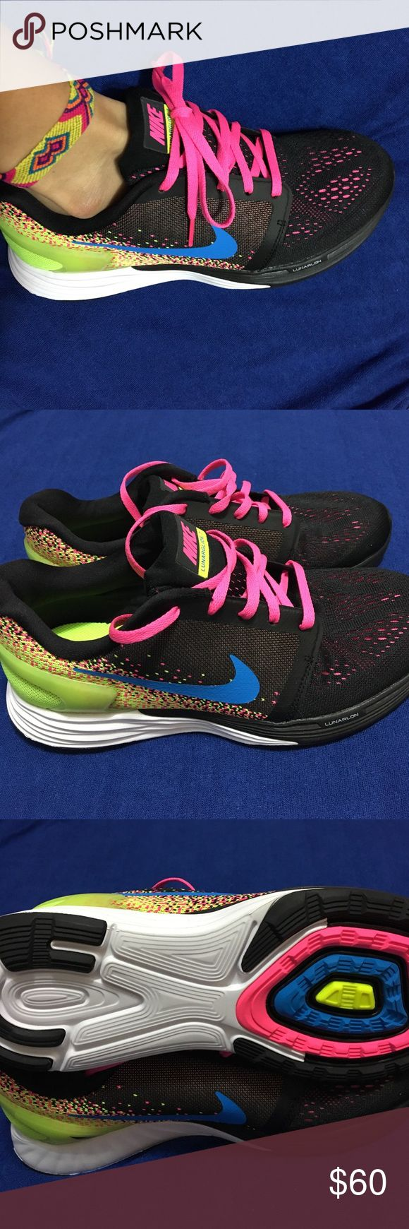 Nike Lunarglide 7 GS Kids Running Shoes Sneakers size 6 big boys/ 7.5 women's. Nike Shoes Athletic Shoes