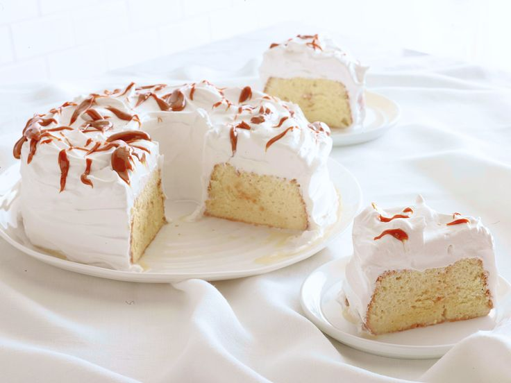 Tres Leches Cake with Dulce de Leche Frosting recipe from Food Network Kitchen via Food Network