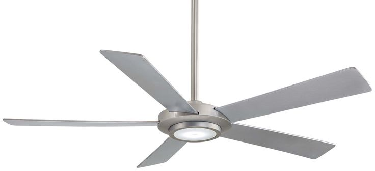 Great Room Fan Minka Aire Sabot Energy Smart 52 Inch Ceiling With Light Kit