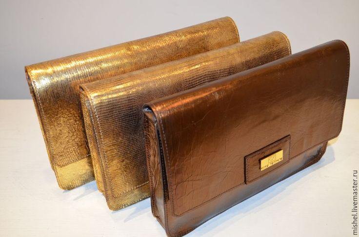 Купить Клатчи к Новому году. - золотой, клатч, клатч ручной работы, классический стиль